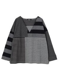ネ・ネット / S いろいろボーダー / Tシャツ