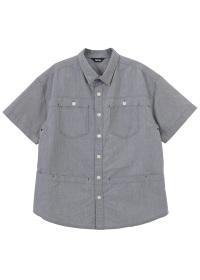 ネ・ネット / S メンズ ポケットオックス / シャツ