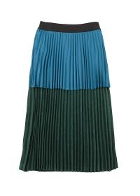 ネ・ネット / S スウェードライクプリーツ / スカート