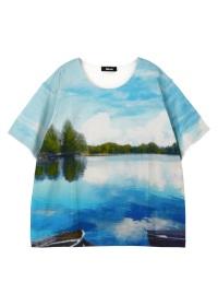 ネ・ネット / メンズ lake T / Tシャツ