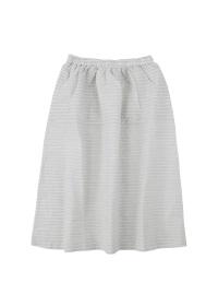 ネ・ネット / クレープストライプ / スカート