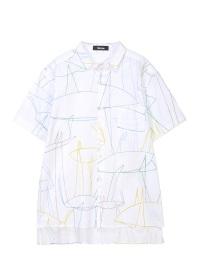 <先行予約> ネ・ネット / ドローイングシャツ / シャツ