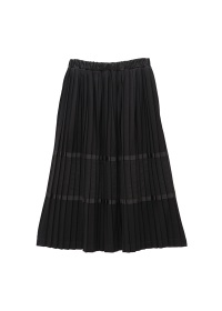 <先行予約> ネ・ネット / パッチプリーツ / スカート