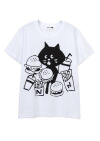 にゃー / S  はんばーにゃー T / Tシャツ
