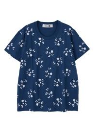 にゃー / 総柄アップにゃー T / Tシャツ