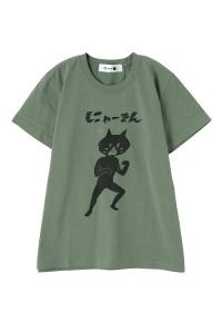にゃー / メンズ 【別注】にゃーまん T / Tシャツ