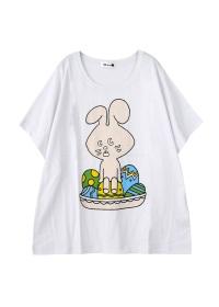 にゃー / S いーすたーにゃー T / Tシャツ