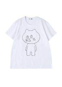 にゃー / にゃーぐるみ T / T-シャツ
