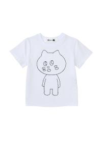 にゃー / キッズ にゃーぐるみ T / Tシャツ