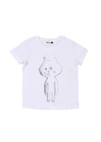 にゃー / S キッズ らふにゃー T / キッズTシャツ