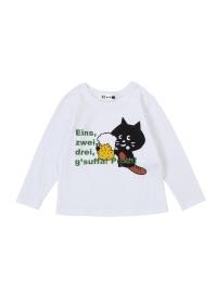 にゃー / キッズ かんぱいにゃーT / Tシャツ