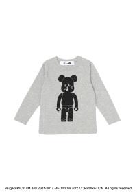 にゃー / キッズ にゃー × BE@RBRICK T / 長袖Tシャツ