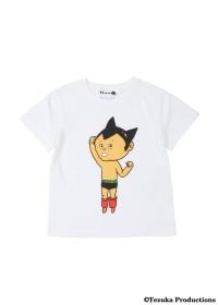 にゃー / キッズ にゃーがかいたとびだすアトム T / Tシャツ