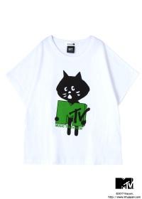 にゃー / にゃー×MTV T / 変形Tシャツ