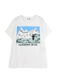 にゃー / あいすばーぐにゃー T / Tシャツ