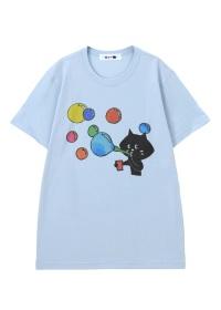にゃー / メンズ からふるしゃぼんにゃー T / Tシャツ