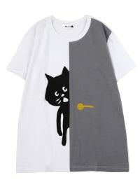 にゃー / メンズ ドアからにゃーT / Tシャツ