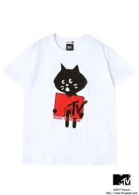 にゃー / メンズ にゃー×MTV T / Tシャツ