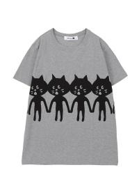 にゃー / メンズ なかよしにゃーT / Tシャツ