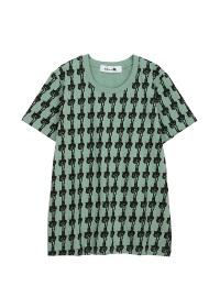 にゃー / 総柄ぶらさがりにゃーT / Tシャツ