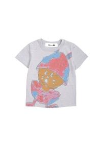 にゃー / キッズ たまごうさぎにゃーT / Tシャツ