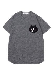 にゃー / メンズ にゃーかおポケットT / Tシャツ