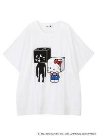 <先行予約> はこからにゃー×HELLO KITTY T / Tシャツ