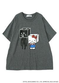 にゃー / はこからにゃー×HELLO KITTY T / Tシャツ