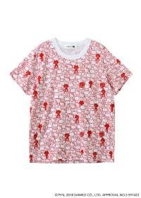 にゃー / 総柄はこからにゃー×HELLO KITTY T / Tシャツ