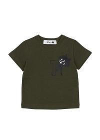 にゃー / S キッズ アルファベットにゃー T / Tシャツ