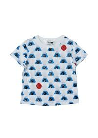 にゃー / キッズ 総柄ふじやまにゃー T / Tシャツ