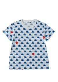 にゃー / 総柄ふじやまにゃーT / Tシャツ