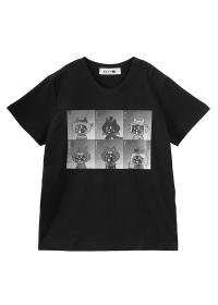 にゃー / ホラースターにゃー T / Tシャツ