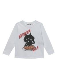 にゃー / キッズ NIKUNOHIにゃー T / Tシャツ