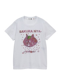 にゃー / からふるさくらにゃー / Tシャツ