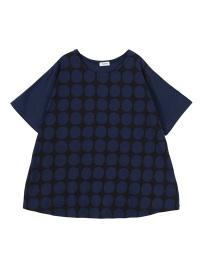 Plantation L-line / (E)ドット型プリント-T / Tシャツ
