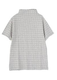 Plantation / チェックガーゼ / Tシャツ