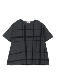 Plantation / CHECK PRINT-T / Tシャツ