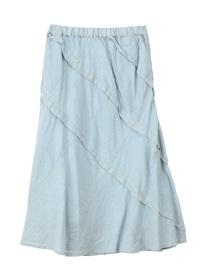 Plantation / S (N)Fine Linen / スカート