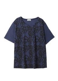 Plantation / ドローフラワープリント-T / Tシャツ