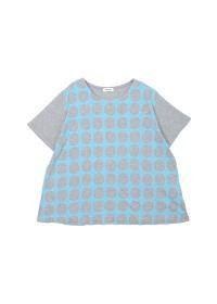Plantation / ドット型プリント-T �U / Tシャツ