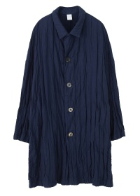 S stripe double cloth - coat