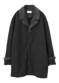S boa fleece coat