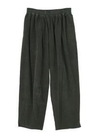 S corduroy wide easy pants