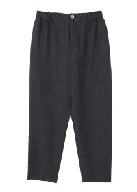 wool easy tapared pants