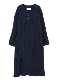 S stripe double cloth-one piece