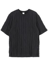 S stripe double cloth - t