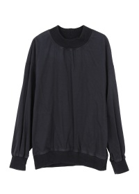 military satin pull over
