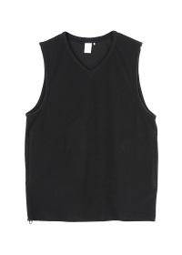 S fleece vest