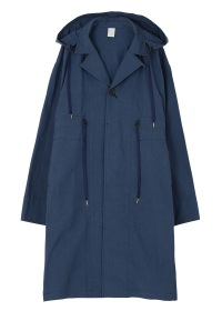 slabcloth hooded coat